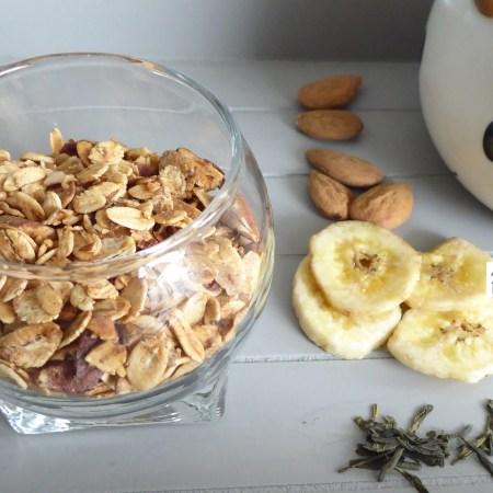 granola flocons d'avoine fruits secs