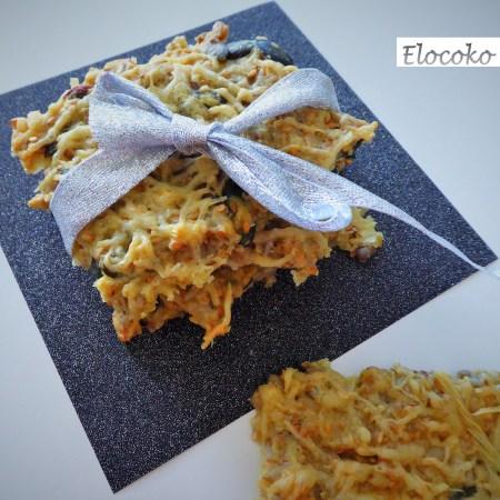 crackers aux graines (sésame, graines de courge, graines de tournesol