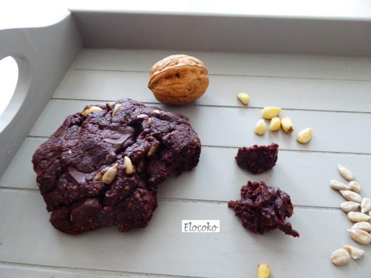 Mes cookies tout chocolat