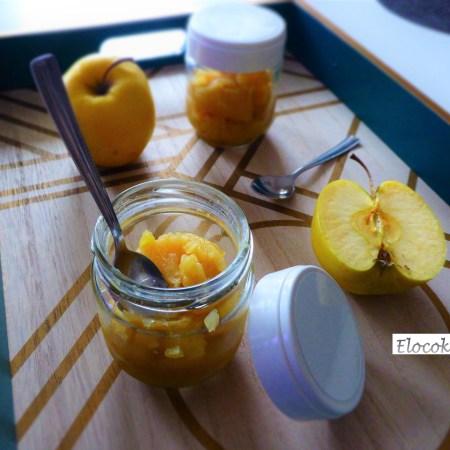 Ma compote de pommes rhum vanille
