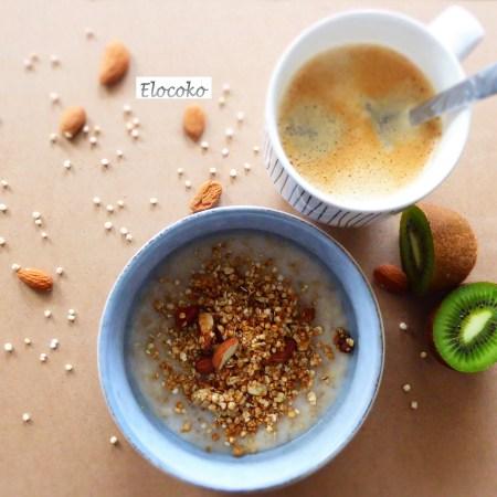 mon granola quinoa amandes