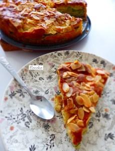 Mon gâteau pomme, amande, courgette