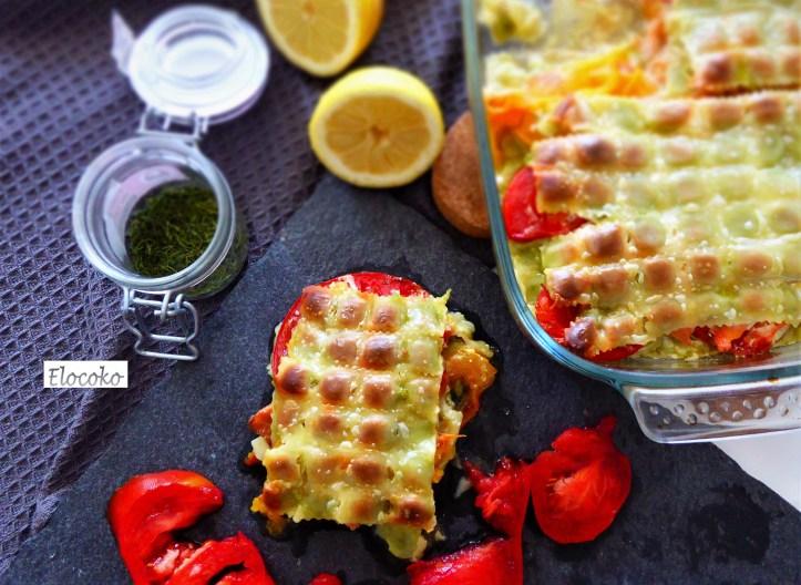 gratin de ravioles au saumon et à la tomate