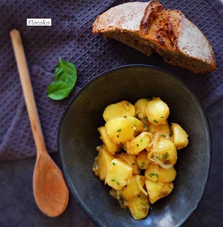 salade de pommes de terre à l'espagnole