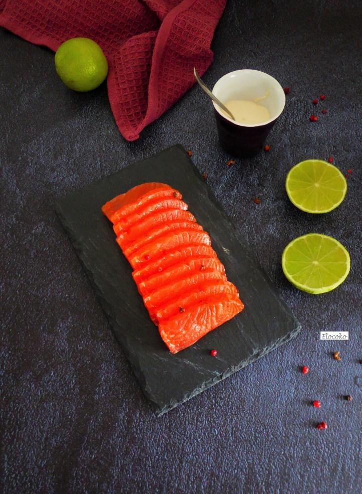 gravlax saumon noel