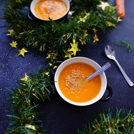 soupe carotte fenouil sésame