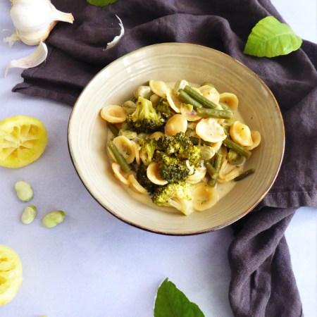 orecchiette printanières, façon one pote pasta