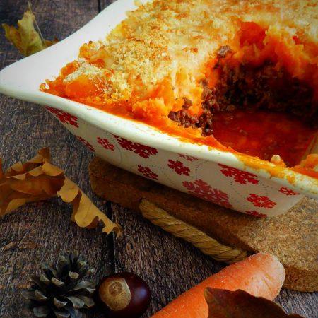 464-parmentier de carottes au vin rouge