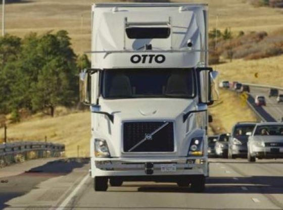 uber camion autonomo sin conductor