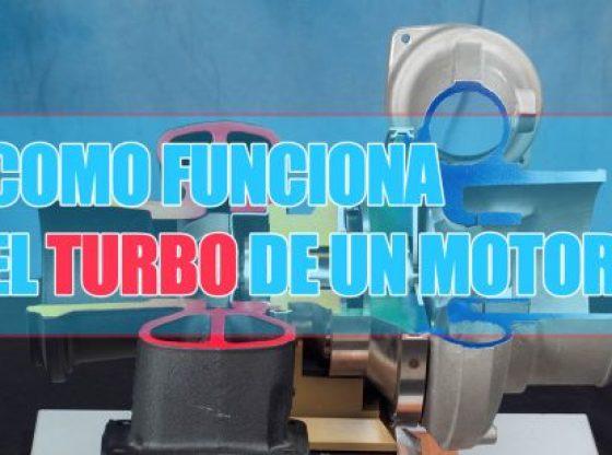 CÓMO FUNCIONA EL TURBO DE UN COCHE