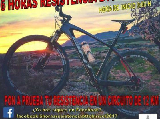 6 horas resistencia btt chirivel 2017