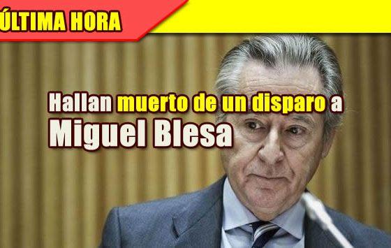 MUERTO MIGUEL BLESA