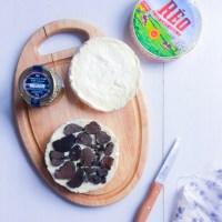 Brioche & camembert rôti à la truffe