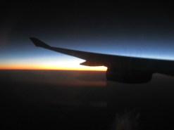 Lever de soleil sur l'Afrique