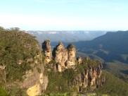 Le rocher des trois soeurs à Katoomba