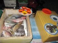 On choisi son poisson pour le barbeuk