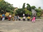 musique traditionnelle dans la rue