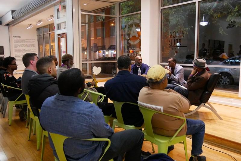 Conférence Débat lors de l'exposition pour la Fotoweek