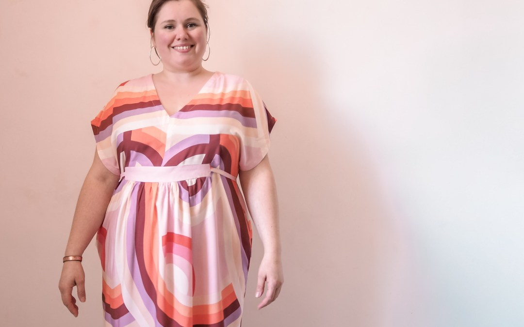 Charlie Caftan de Closet Case Patterns