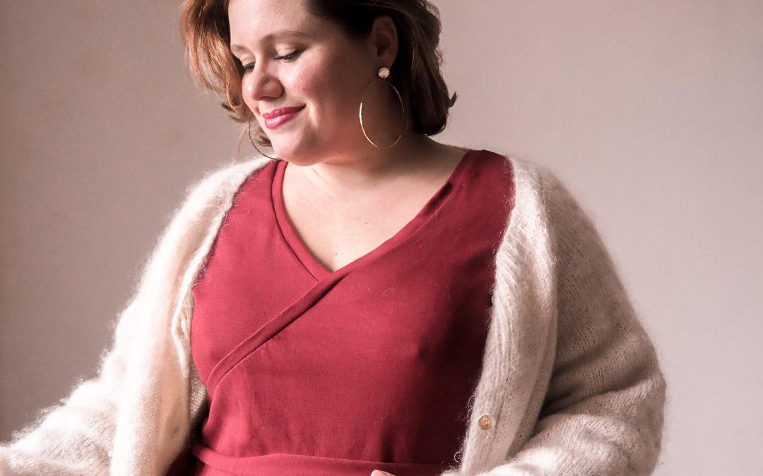 Coudre la robe Ludmilla de Maison Fauve en taille 50