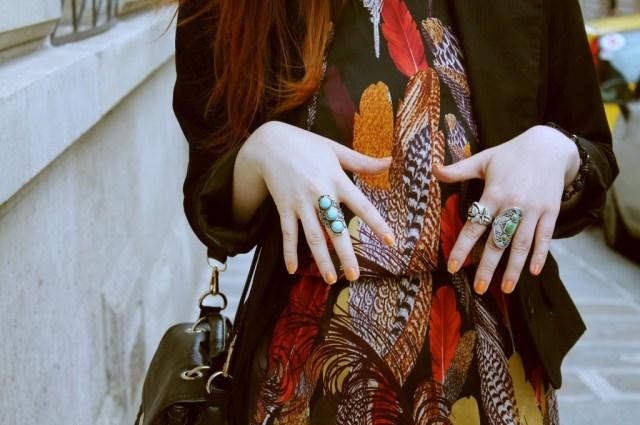 robe plumes