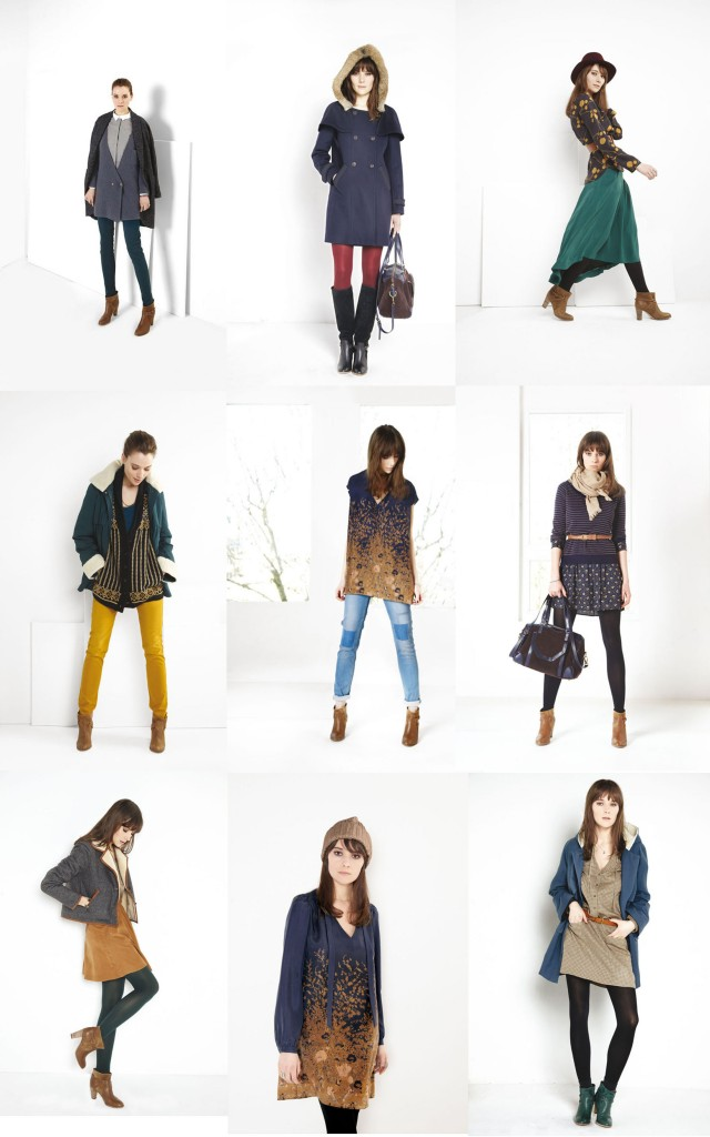Lookbook comptoir des cotonniers ah 12 13 elodie in paris - Comptoir des voyages paris ...