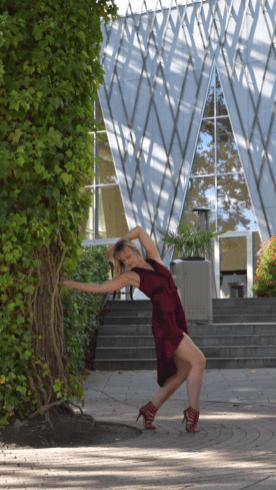 Modèle photo danse Danemark