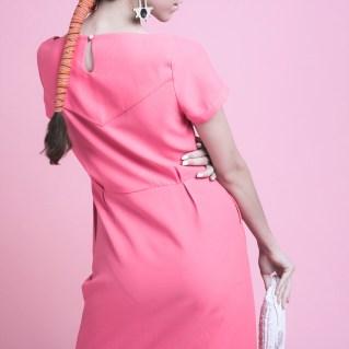 Robe rose - Maison LPK, mode éthique & mode écologique, mode vegan, vêtements écologiques, vêtements biologiques, look mode éthique, vêtements éthiques, mode durable #mode #femme #modefemme #onestpret #ilestencoretemps #modeéthique #modeécologique #modevegan