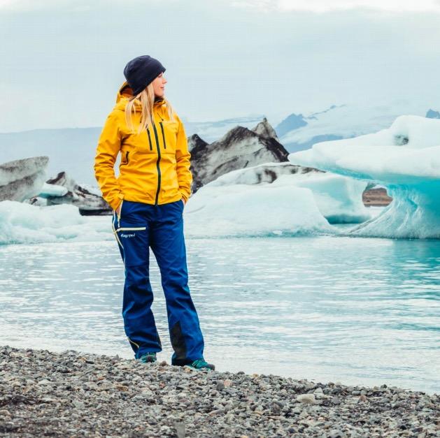 lagoped vêtement de sport montagne neige écologique veste de montagne pantalon de montagne recyclé