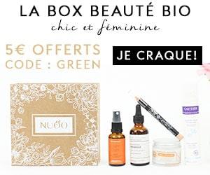 Nuoobox, la box beauté bio