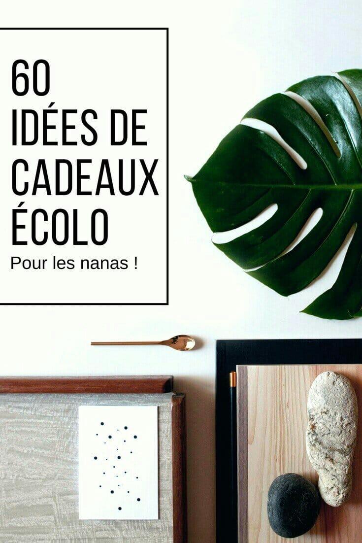 60 idées de cadeaux écologiques biologiques éthiques éco-responsables et originales pour femme