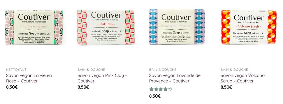 savon vegan coutiver saponifié à froid zéro déchet écologique artisanal naturel