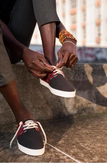 Idée cadeau pour hommes : Panafrica, les baskets éthiques et stylées !