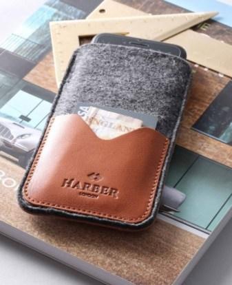 idée cadeau homme la housse porte-carte pour téléphone
