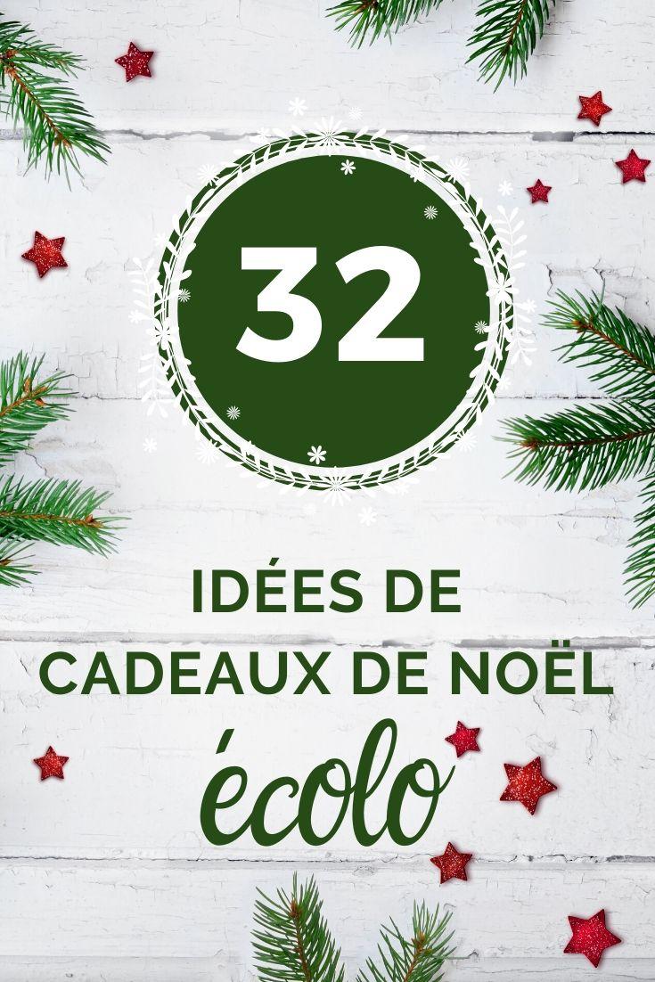 À la recherche d'une idée de cadeau de Noël écologique qui reflète vos valeurs et/ou celles de la personne qui le recevra ? Quelle belle idée ! Voici ma sélection d'idées de cadeau de Noël écolo. #cadeau #idéecadeau #noel #noël #cadeaudenoel #écolo #cadeauécolo #noelécolo #zérodéchet #zerodechet #écologie #cadeauoriginal #cadeaufemme #cadeauhomme