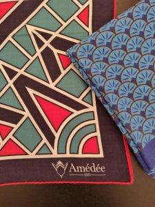 Amédée 1851, foulards et écharpes éthiques en mérinos inspirés du style Art Déco ! Une belle idée de cadeau éthique et écologique pour femme ou homme, dans la lignée de la mode éthique et écologique ! #idéecadeau #foulard #écharpe #modeéthique #modefemme #femme #mode #accessoires #artdéco #artdeco