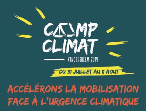 Mon expérience au camp climat 2019 à Kingersheim, et un petit topo sur mon militantisme écolo et social !
