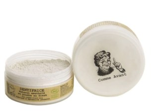 meilleurs produits de beauté biologique cosmétique bio naturel vegan cruelty free comme avant dentifrice en poudre au siwak