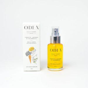 huile corps oden code promo marqué éthique écologique biologique locale made in france