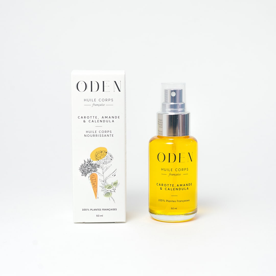 Un code promo chez ODEN, les huiles végétales cosmétiques françaises !