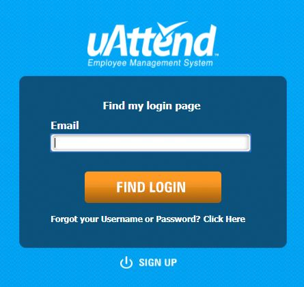uattend login for customers