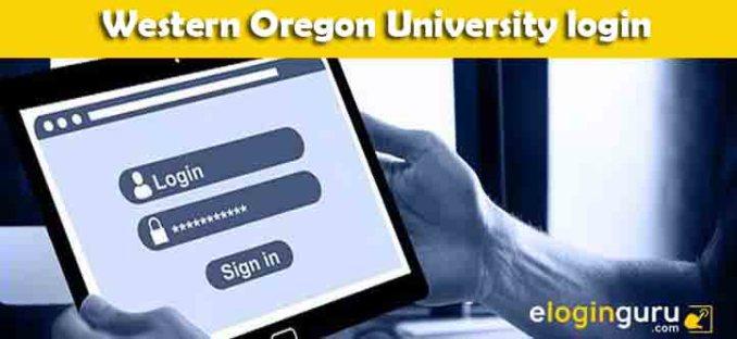 Western Oregon University login
