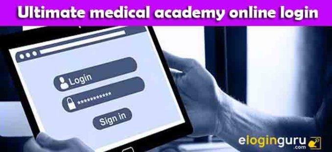 ultimate medical academy online login