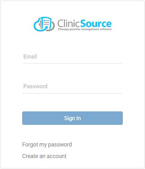 Clinic User Login
