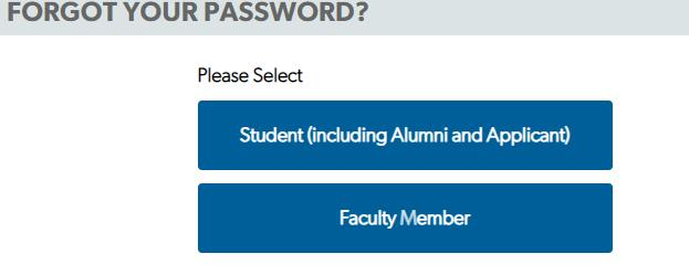 Reset AMU Student Password