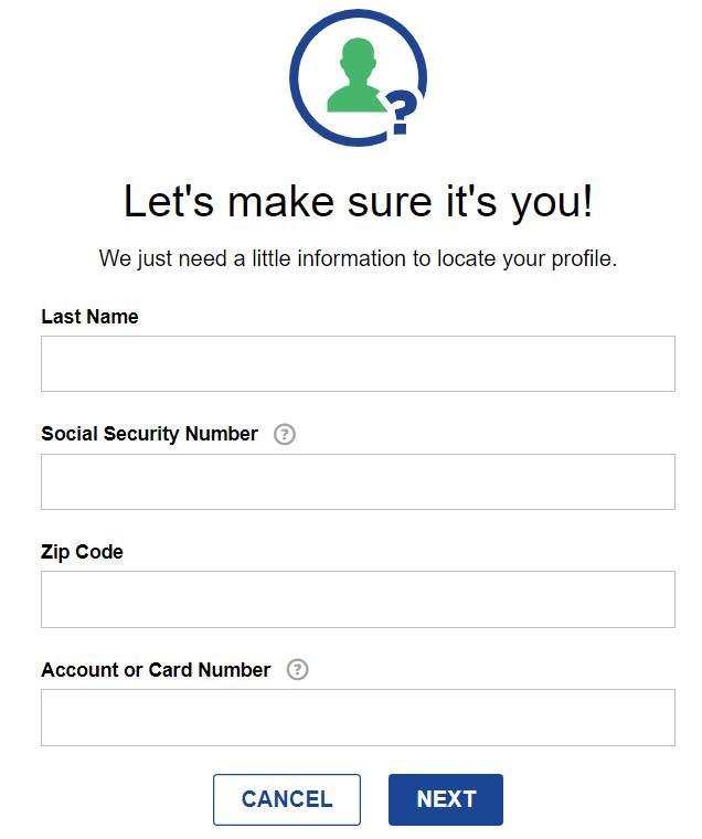 retrieve Fifth Third bank User ID
