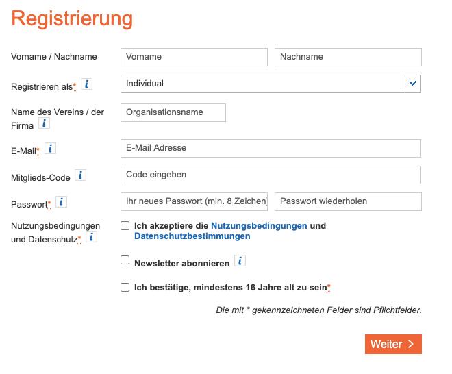 Kieler Volksbank Registrierung Crowdfunding