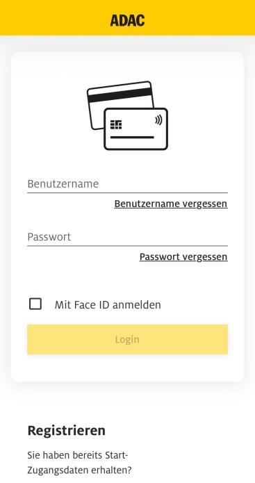 ADAC Kreditkarte LBB login