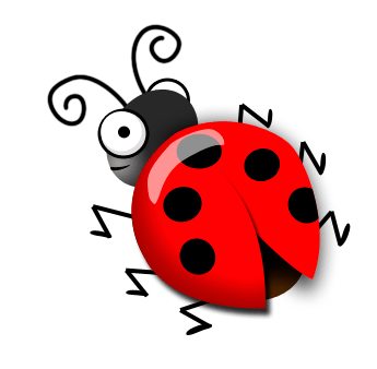 How to draw a cute ladybug in Photoshop