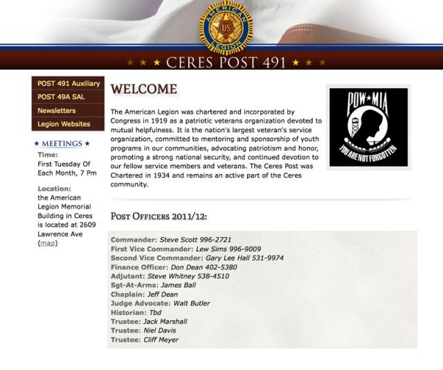 American Legion ost 491